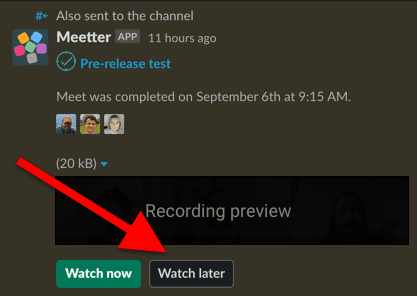 watchlist add from slack